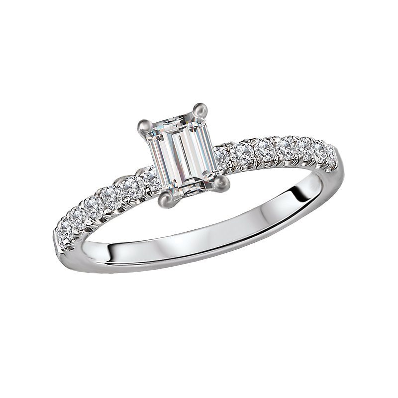 LaVie Diamond Semi-Mount Engagement Ring