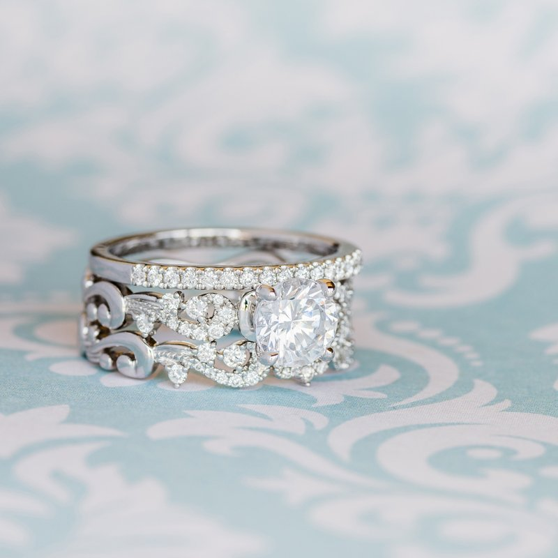Classic Delicate Diamond Wedding Band