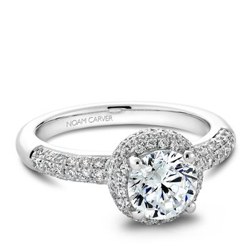 Noam Carver Vintage Engagement Ring B100-02A