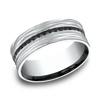 Ammara Stone Comfort-fit Diamond Wedding Ring