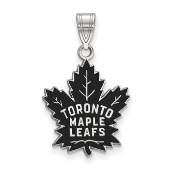Sterling Silver Toronto Maple Leafs NHL Pendant