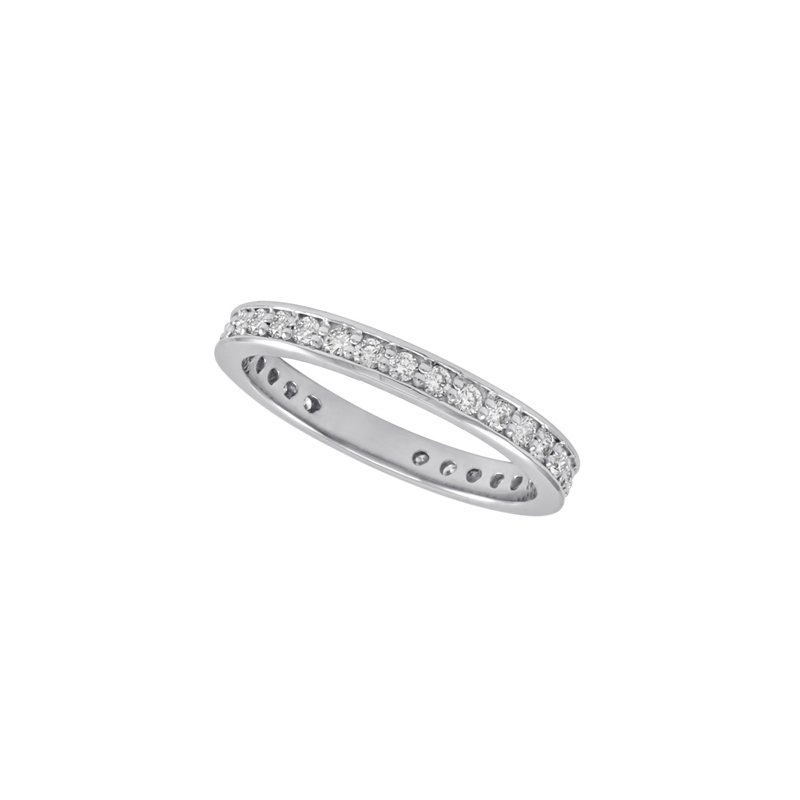 S. Kashi & Sons Bridal Palladium Millgrain Band