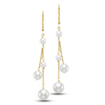 Cecily Chain Drop Earrings