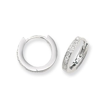 Diamond Hoops Wg 12mm