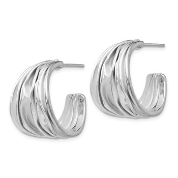 Leslie's Sterling Silver Post Hoop Earrings
