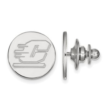 Sterling Silver Central Michigan University NCAA Lapel Pin