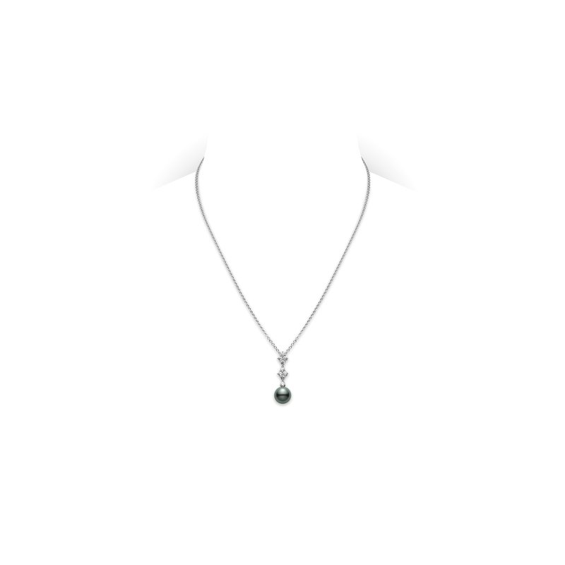 2bb30ca2d Mikimoto Classic Elegance Black South Sea Cultured Pearl Pendant. Stock #  PPA839BDW