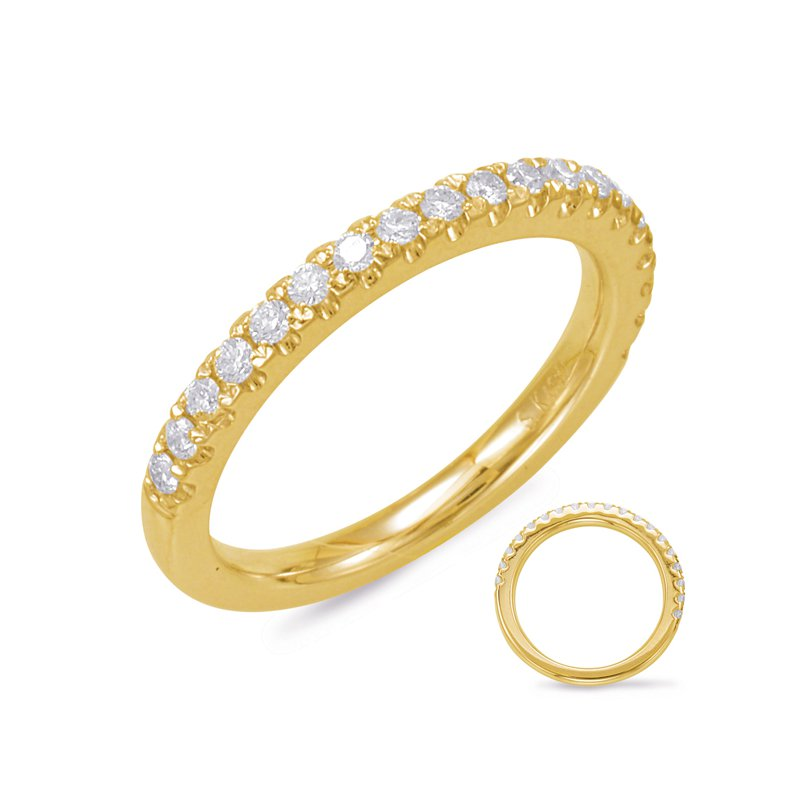 MAZZARESE Bridal Yellow Gold Matching Band