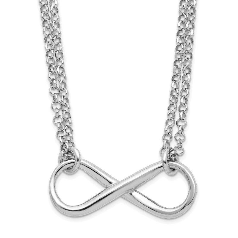 Arizona Diamond Center Leslies Leslies Sterling Silver Infinity