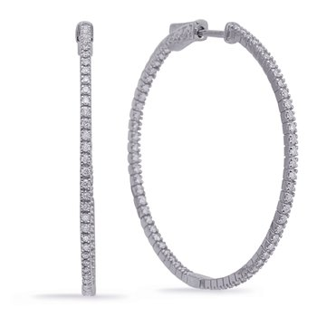 1.60 inch Securehinge Hoop Earring