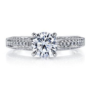 25105 Diamond Engagement Ring 0.29 ct tw