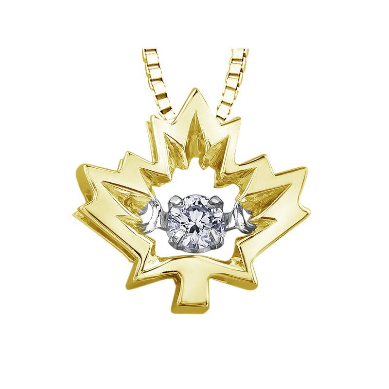 I Am Canadian I am Canadian™ Northern Dancer™ Diamond Solitaire Pendant