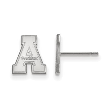 Sterling Silver Appalachian State University NCAA Earrings