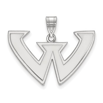 Gold Wayne State University NCAA Pendant