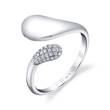MARS 26809 Fashion Ring, 0.12 Ctw.