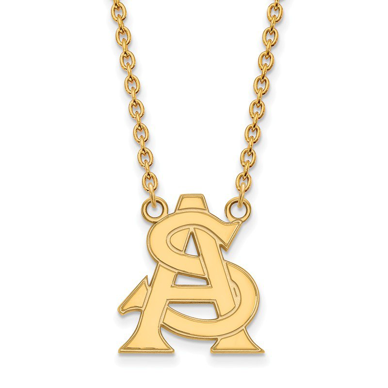 NCAA Gold Arizona State University NCAA Necklace