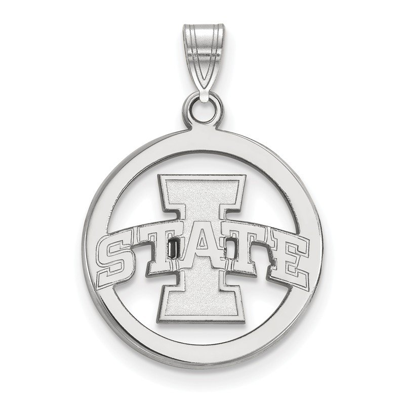 NCAA Sterling Silver Iowa State University NCAA Pendant