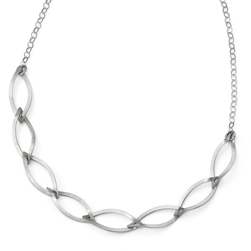 Leslie's Leslie's Sterling Silver Brushed w/ 2in ext. Necklace