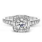 Simon G LR1151 ENGAGEMENT RING