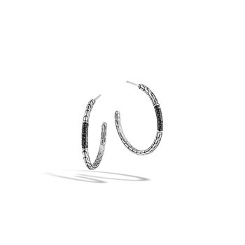 Classic Chain Medium Hoop Earrings