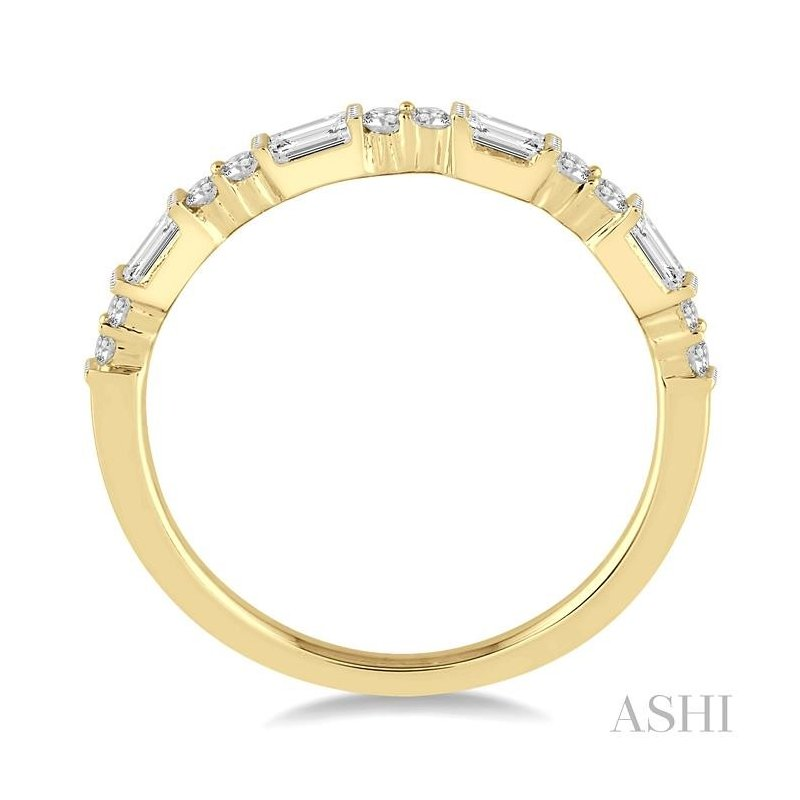 ASHI diamond stackable band