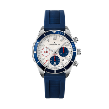 Adventure Sport Chrono NHLPA Limited Edition - White Dial Blue Rubber Strap