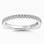 Valina Diamond and 14K White Gold Wedding Ring (0.218 ct. tw.)