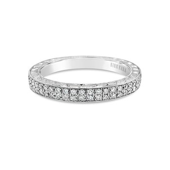 Kirk Kara 18K White Gold Diamond Band