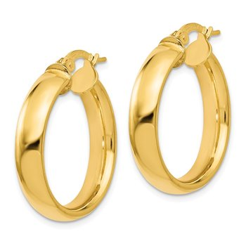Leslie's 14K Polished Earrings