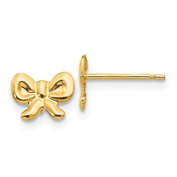 14k Madi K Bow Post Earrings