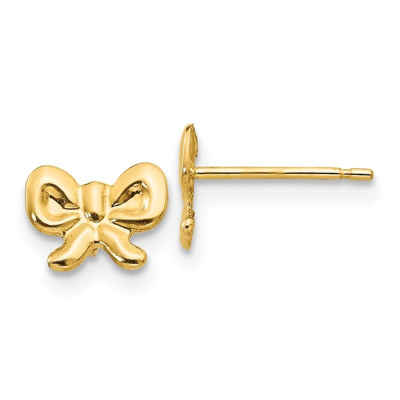Quality Gold 14k Madi K Bow Post Earrings