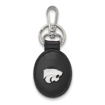 Sterling Silver Kansas State University NCAA Key Chain