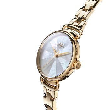 The Canfield PVD Gold 38mm Womens Watch