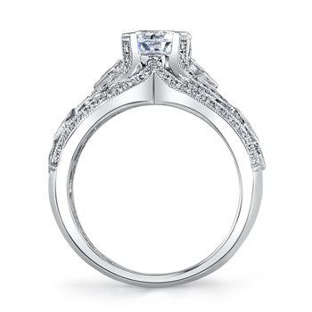 MARS 25218 Diamond Engagement Ring 0.38 ct rd 0.23ct pr