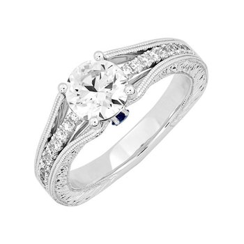 Bridal Ring-RE13275W10R