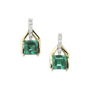 Emerald Earrings-CE2626YWEM