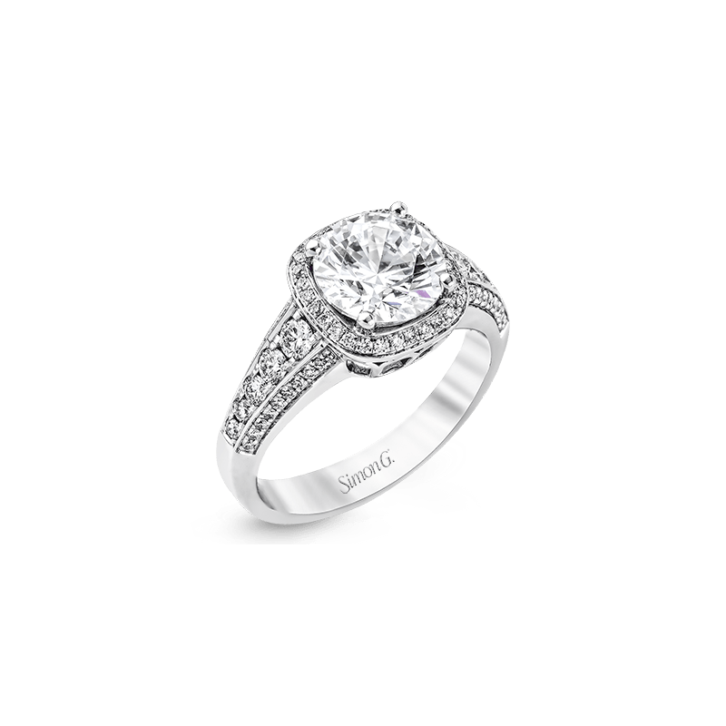 Simon G MR2181 ENGAGEMENT RING