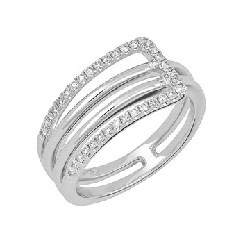 Diamond Fashion Ring - FDR14043W