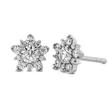 1.25 ctw. Aerial Cluster Stud Earrings
