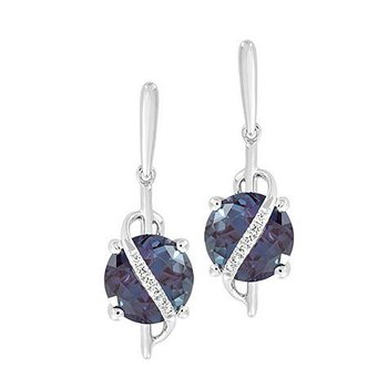 Alexandrite Earrings-CE4247WAL