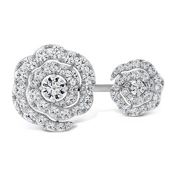 2.6 ctw. Lorelei Diamond Double Floral Ring