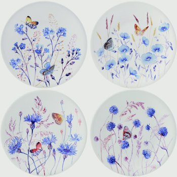 Dessert Plates - Set of 4 Assorted