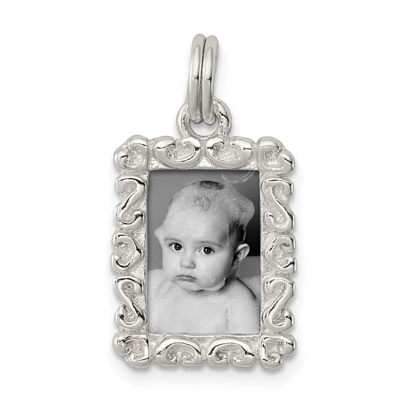 Quality Gold Sterling Silver Photo Charm