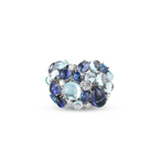 Roberto Coin Ring with Diamond, Iolite, Topaz and Sapphires