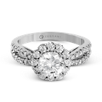 Zeghani ZR1346 ENGAGEMENT RING