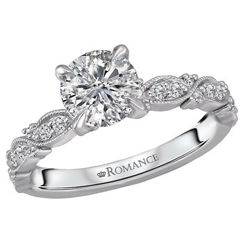Infinity Semi-Mount Diamond Ring