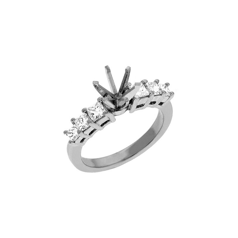 S. Kashi & Sons Bridal Princess Engagement Ring