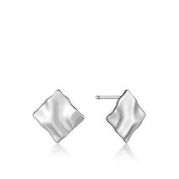 CRUSH MINI SQUARE STUD EARRINGS
