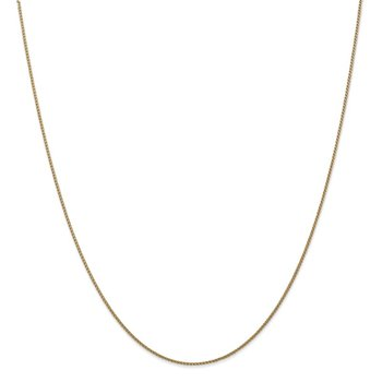 Leslie's 14k 1mm Solid D/C Spiga Chain