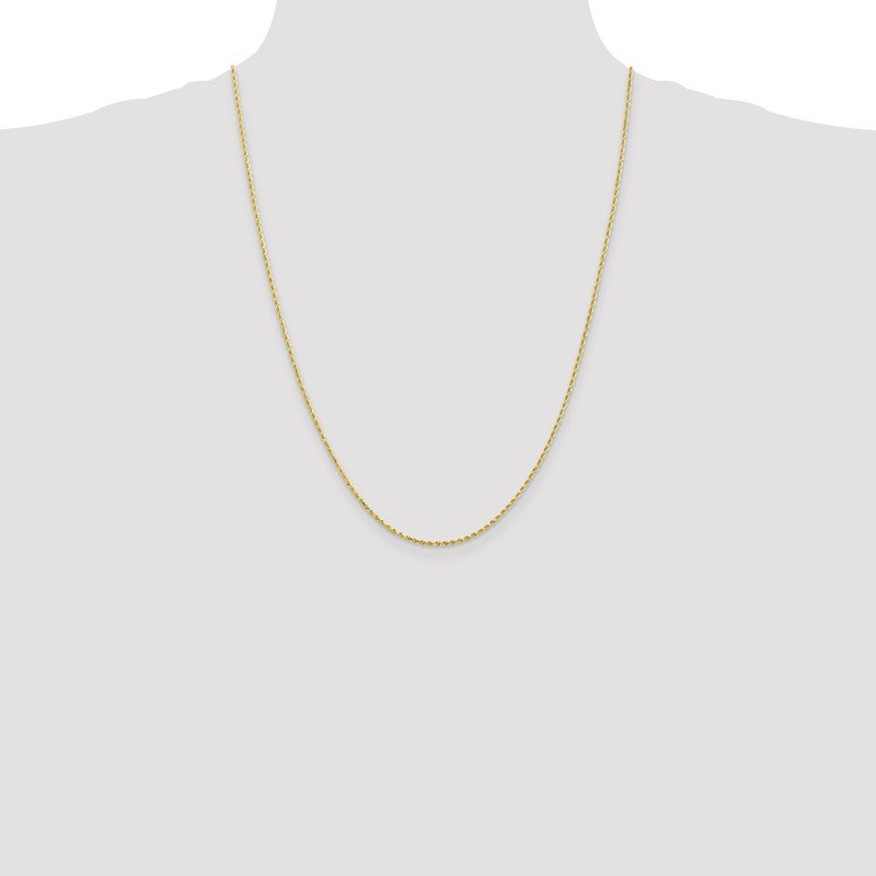 Leslie's Leslie's 10K 1.75mm Diamond-Cut Rope Chain